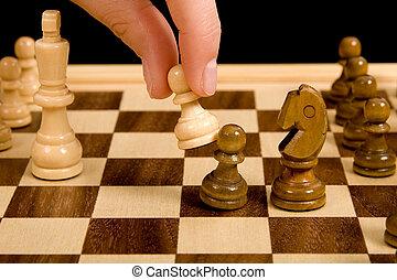 échecs, composition