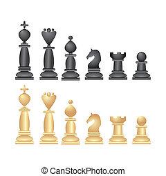 échecs, icônes