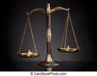échelle, justice