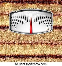 échelle, régime, poids