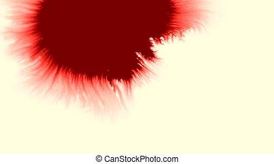 éclaboussure, sanguine