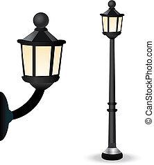 éclairage public, ensemble