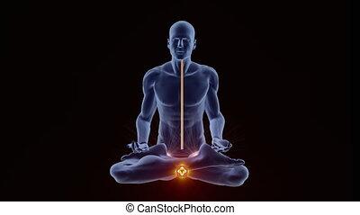 éclaircissement, chackras, yoga