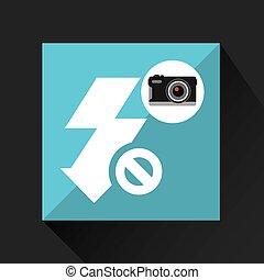 éclat appareil-photo, photographique, retro, non