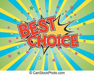 éclater, choix, parole, fond, comique, bulle, mieux, rédaction