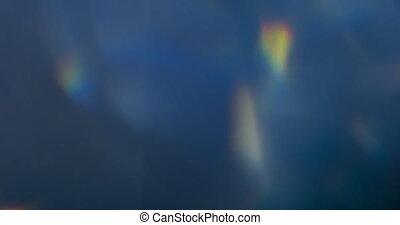 éclats (flares), lentille, prisme, lumière