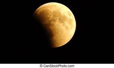 éclipse, juillet, 27, lunaire, 2018