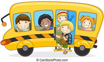 école, aller