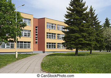 école, bâtiment