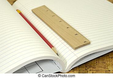 école, cahier