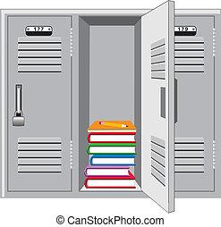 école, casier