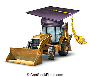 école, construction