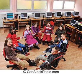 école, education, il, enfants