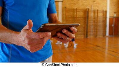 école, entraîneur, numérique, utilisation, tablette, 4k, ...