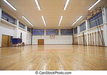 école, gymnase