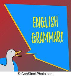 école, littérature, connaissance, langue, photo, projection, anglaise, signe, grammar., reading., texte, conceptuel, education
