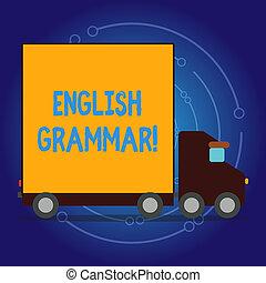 école, littérature, langue, business, photo, projection, grammar., note, reading., anglaise, showcasing, écriture, education, connaissance