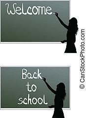 école, planche