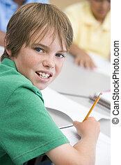 école primaire, pupille, écriture