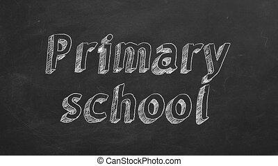 école, primaire