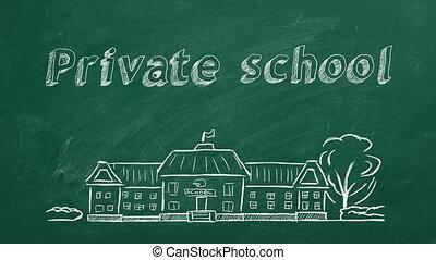 école, privé