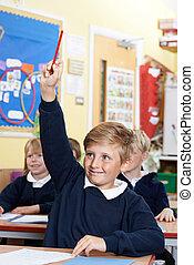 école, question réponse, pupille, élémentaire, classe