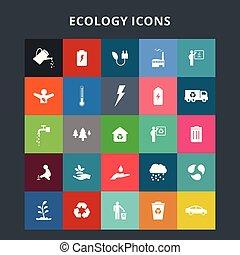 écologie, icônes