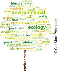 écologie, mots
