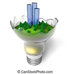 écologique, concept