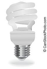 économie, ampoule, énergie, lumière