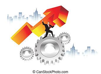 économie, business, puissance