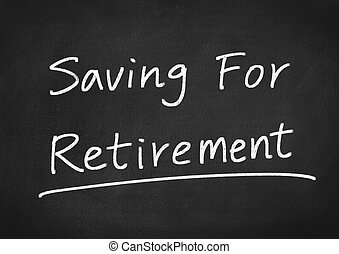 économie, pour, retraite