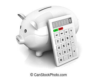 économies, calculatrice