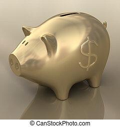 économies, dollar