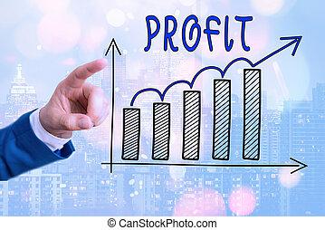 économies, intérêts, showcasing, ventes, levée, projection, ...