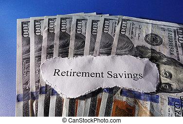 économies, retraite