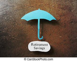 économies, retraite, protection