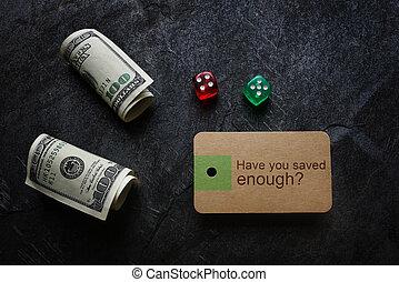 économies, retraite, question