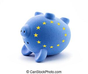 économique, crise, européen