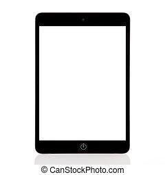 écran, isolé, tablette, ?omputer