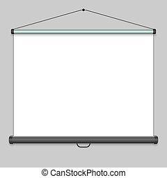 écran, projection