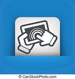 écran tactile, tablette
