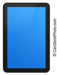 écran tactile, tablette, xxl