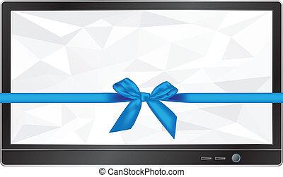 écran tv, cadeau