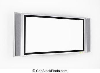 écran tv, plasma
