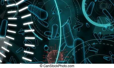 écrit, 5g, scopes, animation, cellules, enduisage, ...