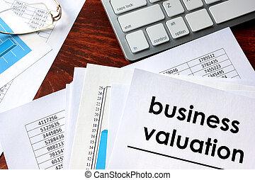 écrit, document, évaluation, business