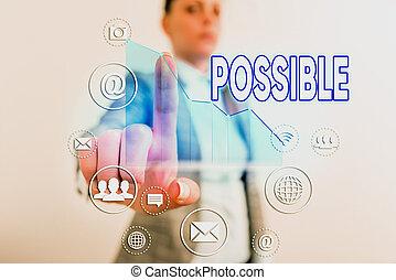 écriture, certain., happen, mot, pas, business, texte, mai, exister, concept, boîte, possible., quelque chose, mais