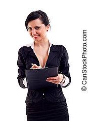 écriture femme, business