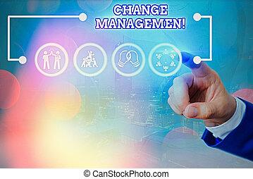 écriture, organisation, texte, signification, changement, remplacement, concept, direction, management., écriture, policies., nouveau